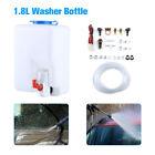 1.8L Auto Car SUV Windshield Glass Washer Reservoir 12V Pump Bottle Fluid Reserv photo