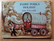 Paddy Pork's Holiday by John S. Goodall 1976 HC DJ First American Edition