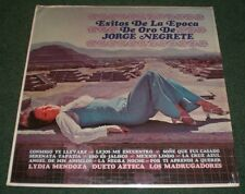 Exitos De La Epoca De Oro De Jorge Negrete~RARE Latin~VG++ Vinyl~FAST SHIPPING!