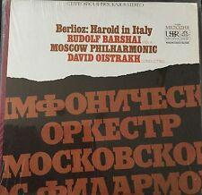 BERLIOZ-HAROLD in ITALY-BARSHAI-OISTRAKH-USSR MELODIYA ANGEL ORIGINAL VINYL