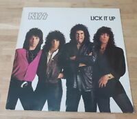 Kiss ‎– Lick It Up - Netherlands - 1983 - 814 297-1 - EX/VG+