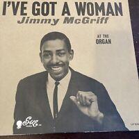 "Jimmy McGriff - I've Got A Woman (LP, 12"" Vinyl Mono) Original Press Blues Jazz"