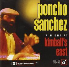 PONCHO SANCHEZ - A Night at Kimball's East - CD