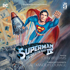 SUPERMAN IV 4 2-CD John Williams + Alexander Courage LA-LA LAND Score SOUNDTRACK