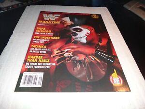 WWF wwe Magazine september 1992 papa shango the undertaker tatanka nailz wwe 1