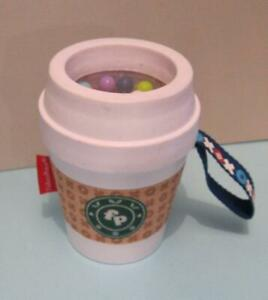 Fisher Price Infant starbucks Coffee Cup Teether tactile/rattle baby toddlert oy