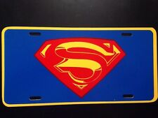 """Superman Funny Novelty License Plate Car Tag 6"""" x 12"""