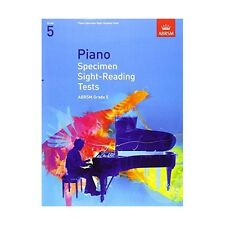 ABRSM Piano Specimen Sight Reading Tests, Grade 5 - Same Day P+P
