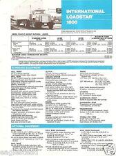 Truck Brochure - International - 1800 - Loadstar - 1973 - Blue (TB404)