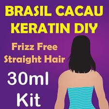 Brazilian Keratin Hair Treatment - 30ml Kit Cardiveu Brasil Cacau Straightening