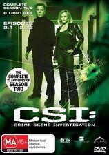 CSI: Crime Scene Investigation : Series 2 (DVD, 2004, 6-Disc Set)