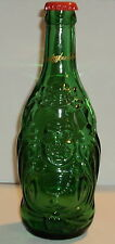 """COLLECTIBLE GREEN BEER BOTTLE """"LUCKY BUDDHA"""" IMPORTED FROM CHINA"""