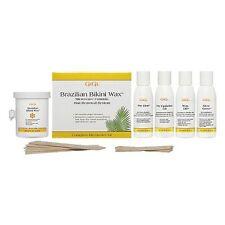 Gigi Brazilian Home Waxing Kit Pubic Intimate Area Hair Removal Remover Hard Wax
