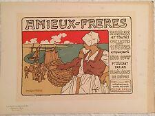 "FAY GEORGES ""LES SARDINES AMIEUX"" 1899"