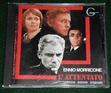 Ennio Morricone L'ATTENTO OST CD - rare Japanese 1st Edition