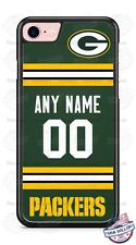 GREEN BAY PACKERS JERSEY PHONE CASE COVER FITS iPHONE SAMSUNG etc NAME& No.