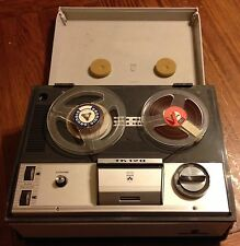 Grundig TK-120 Reel To Reel Tape Recorder Twin Track VTG TK120