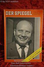 Der Spiegel 13/60 23.3.1960Reformer Theodor Blank