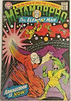 METAMORPHO THE ELEMENT MAN#15 VG/FN 1967 DC SILVER AGE COMICS