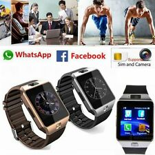 Smart Wrist Watch SIM Phone Bluetooth Camera For iPhone Android HTC Samsung DZ09