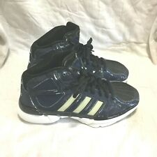 923496ae66a0 ADIDAS BASKETBALL SHOES - BLUE BLACK WHITE ( SIZE 6.5 ) WOMEN S