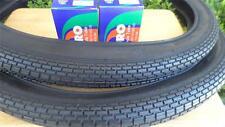 Two(2) Duro 26x2.125 Beach Cruiser Bicycle Tires & 2 tubes Brick Pattern Black