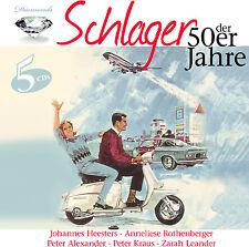 Cd succès des années 50er de Various Artists 5cds