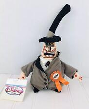 "Disney 8"" Mayor Mini Bean Bag Beanie w/tags Nightmare Before Christmas Two Faced"