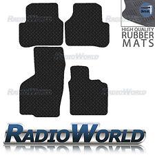 Volkswagen Passat B6 2005-2011 Black Floor Rubber Tailored Car Mats 3mm 4pc Set