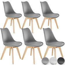 6er Set Esszimmerstühle im Skandinavischen Design Wohnzimmer Küche Interieur