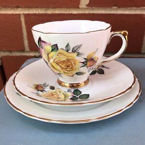 Vintage Crown Luton Cup Saucer & Plate