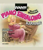 KARAOKE CDG    PIANOSINGALONG KARAOKE  60 Old time Hits on 2 Discs