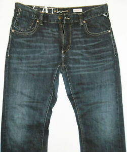 "Angelo Litrico Straight Leg Blue Mens Jeans Size 40 (Waist 20"")"