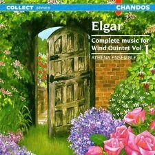 Elgar: Complete Music for Wind Quintet, Vol. 1 Athena Ensemble NEW