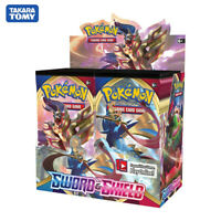 TCG: Sword & Shield Booster Box Collectible 2020 Newest 324Pcs Pokemon Cards