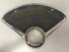 1955-56 Chevrolet Bel Air Dash Speaker, Clock Grille