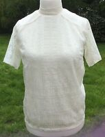 WAREHOUSE CREAM VICTORIANA LACE TOP - SIZE 12 BRAND NEW WITH TAGS *Reduced!*