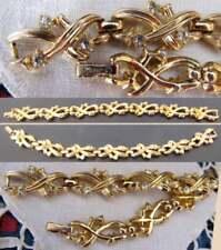 BRACCIALE Firmato TRIFARI Crown Originali'50 cm.17,5x1 Mai indossato