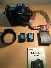 Canon EOS 5D Mark II 21.1 MP Digital SLR Camera (Body Only) Battery Grip incl.