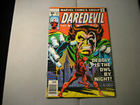 DAREDEVIL #145 The OWL (1977, Marvel Comics)