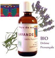 Huile Essentielle BIO de Lavande - Drôme Provençale