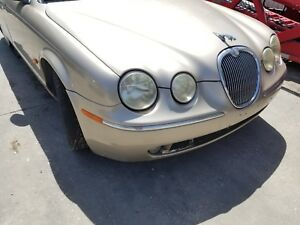 2005 2006 2007 2008  JAGUAR S-TYPE FRONT BUMPER COVER GOLD SEC