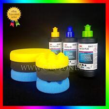 3M Fast Cut Plus + Extra Fine Plus + Ultrafina SE + 6x NAT Mousse de polissage