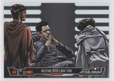 2013 Topps Star Wars Illustrated: A New Hope #12 Meeting With Lord Tion Card 3a3