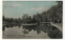 Hillsdale, Michigan, View of Mirror Lake, Stock's Park, 1911