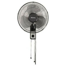 Holmes HMF1611A-UM 16 in. 3-Speed Metal Wall Mount Fan (Black) New