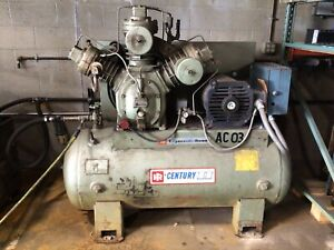 Ingersoll Rand Type 30 25E3 Reciprocating Air Compressor 3 Phase 25HP #355LW
