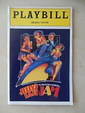 May 1992 - Virginia Theatre Playbill - Jelly's Last Jam - Gregory Hines