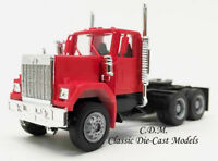 GMC Tandem Axle Tractor Day Cab Red HO 1/87 Scale Herpa/Promotex 15235-RD