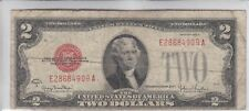 $2 1928G Two Dollar USA Legal Tender Note Red Seal Bill Old Currency Money Deuce